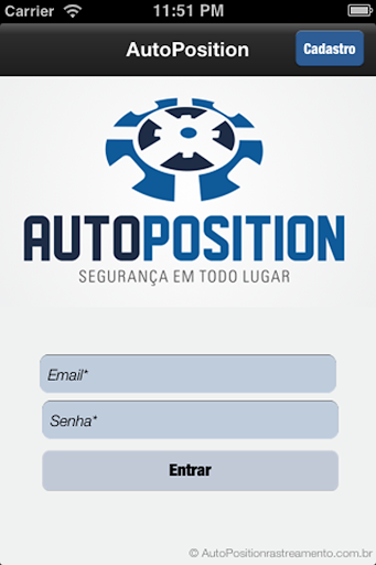 Auto Position Rastreamento