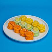 Citrus Macarons (16pcs)