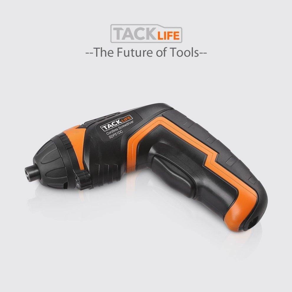 TACKLIFE Cordless Screwdriver SDP51DC Rechargeable Cordless ...