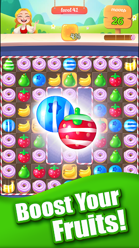 New Sweet Fruit Punch u2013 Match 3 Puzzle game 1.0.27 screenshots 2