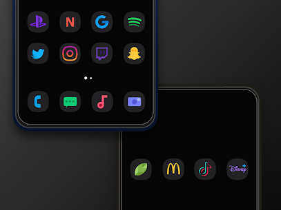One UI Dark Icon Pack (ORIGINAL) 1