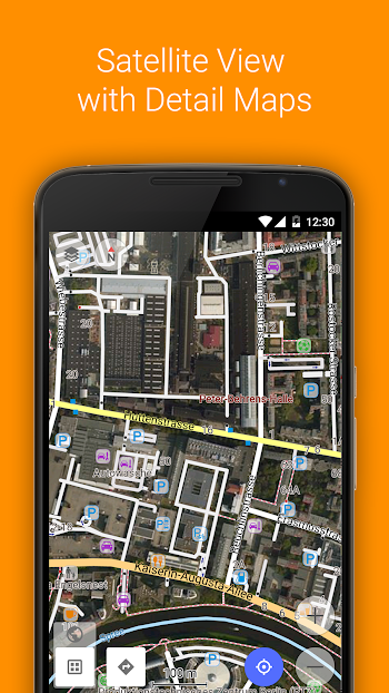 OsmAnd+ Maps & Navigation- screenshot