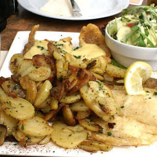 German Cottage Potatoes with Bacon.