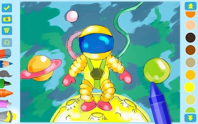 First Coloring book for kindergarten kids APK screenshot thumbnail 4
