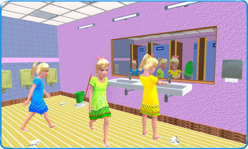 Kids Toilet Emergency Pro 3D android2mod screenshots 2