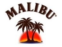 Logo for Malibu Black 70 Proof