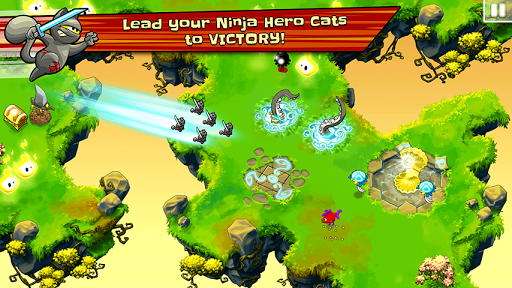 Ninja Hero Cats screenshot 1