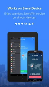 SaferVPN - WiFi Security VPN screenshot 4