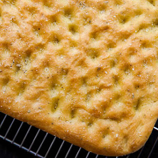 Focaccia Bread with Rosemary.
