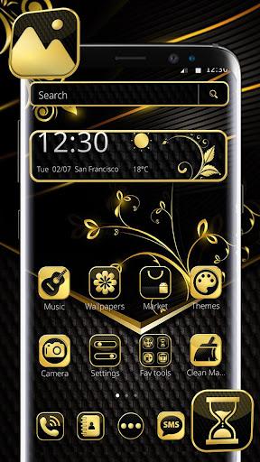 Decent Black Golden Theme for PC
