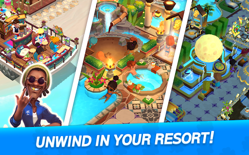 My Little Paradise : Resort Management Game android2mod screenshots 22