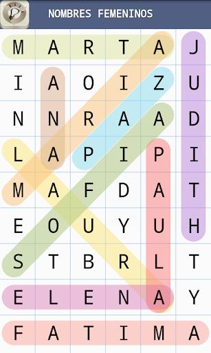 Sopa de Letras en Espau00f1ol Gratis 1.2 Screenshots 3