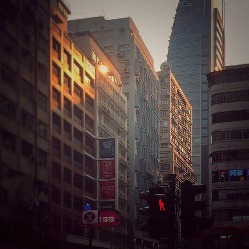 Dusk, Tsim Sha Tsui, hong kong, tst, sunset,  黃昏, 尖沙咀