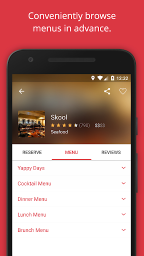 OpenTable: Restaurants Near Me  screenshots 4