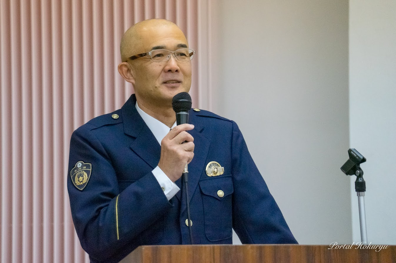 北海道警察深川警察署和駐在所 警部補 富所秀樹 所長