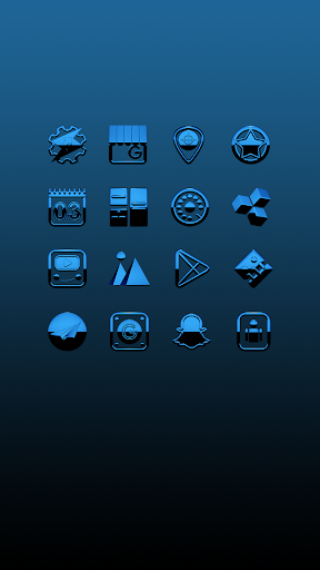 A-BLUE Icon Pack ss2