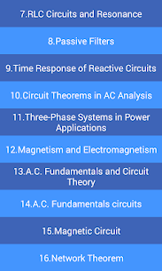 Electrical Engineering MCQs (+10,000) App Download For Android 4