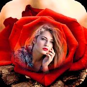 Rose Photo Frames : Flower Photo Frame Editor New