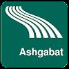 Mappa di Ashgabat offline