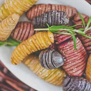 Hasselback Fingerling Potatoes.