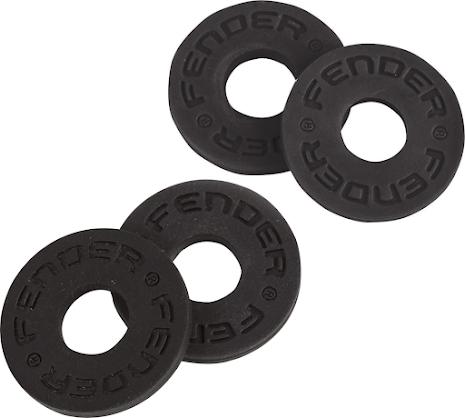 Fender Strap Blocks 2-Pair (Black/Black)