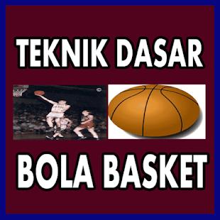 Teknik Dasar Bola Basket - náhled
