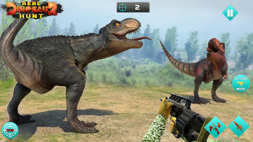 Dino Games - Hunting Expedition Wild Animal Hunter 6.0 screenshots 4