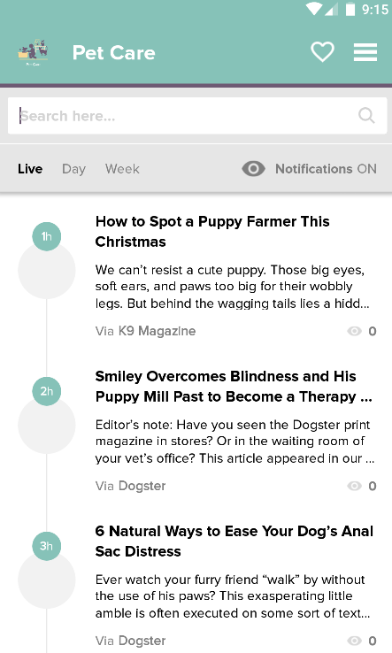 Pet Care: Pet Health News&Tips- screenshot