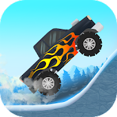 Kids car: Snow racing