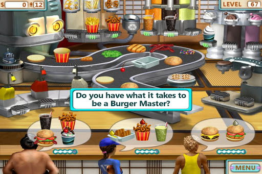 Burger Shop - Free Cooking Game apkpoly screenshots 5