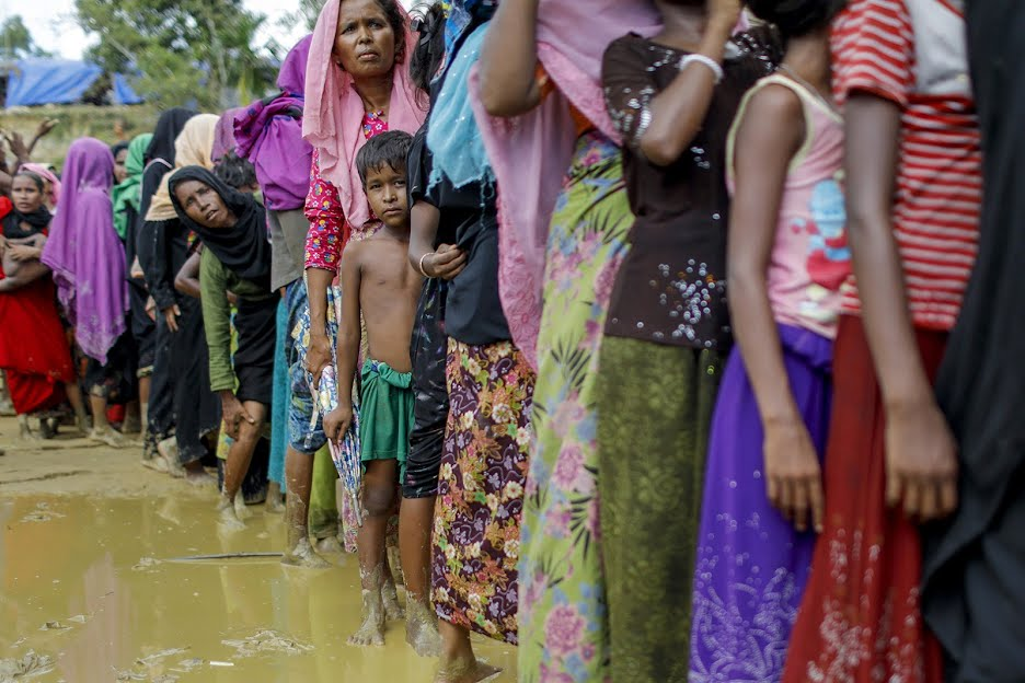 Intense Focus on the Rohingya