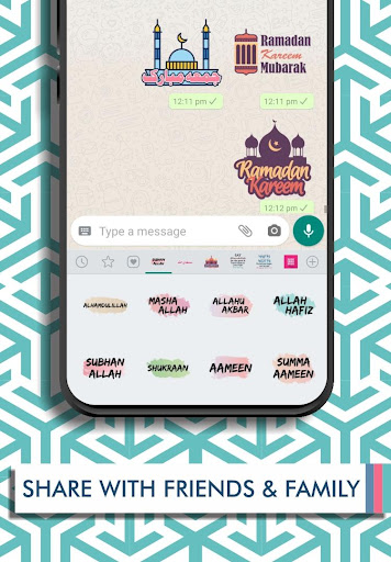 Islamic Stickers 2020 - WAStickerApps 2.1.9.4 screenshots 4