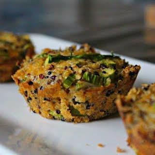 Asparagus + Parmesan Quinoa Muffins.