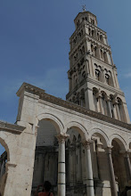 Photo: Cathedral at the heart of Diocletion Palace, Split