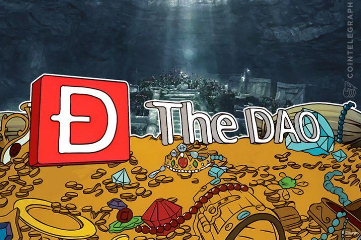 Das DAO-Logo und Schätze