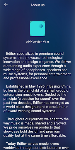 Edifier Home screenshots 7
