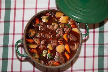 Cold Weather Essentials: Wine Marinated Beef Stew