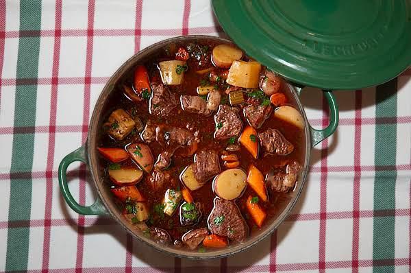 Cold Weather Essentials: Wine Marinated Beef Stew Recipe