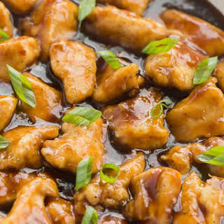 Skillet Orange Chicken.