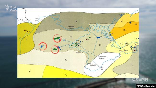 Неподалік Одеси у Чорному морі розташоване Одеське газове родовище, за ним – Голіцинське і Штормове