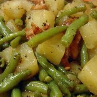 Ham Green Beans Potatoes Crock Pot Recipes