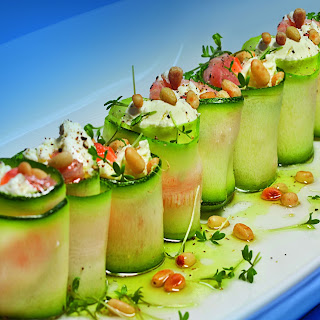 Zucchini Rolls.
