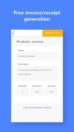 Kweekdesk - Free Receipt Invoice Maker Generator App Report