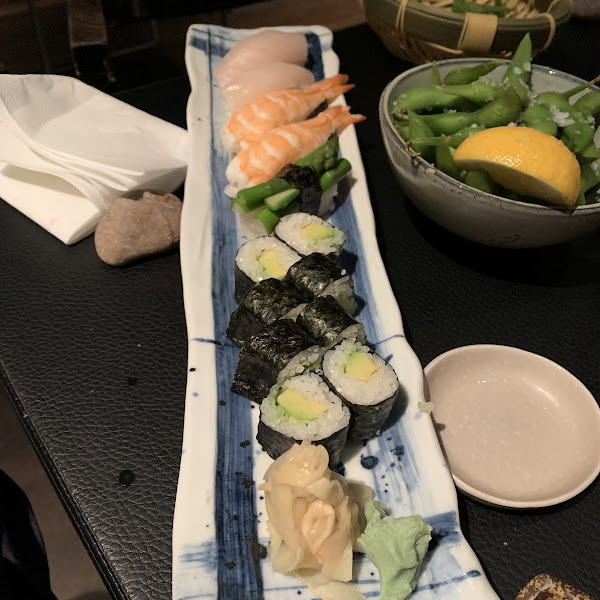 Just some of the safe sushi I ate