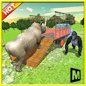 Transport Truck: Zoo Animals icon