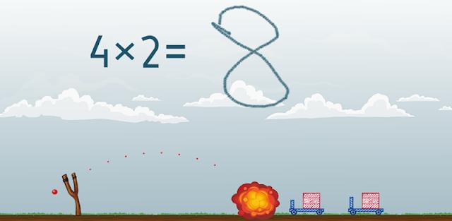 Math Shot Multiplication Tables