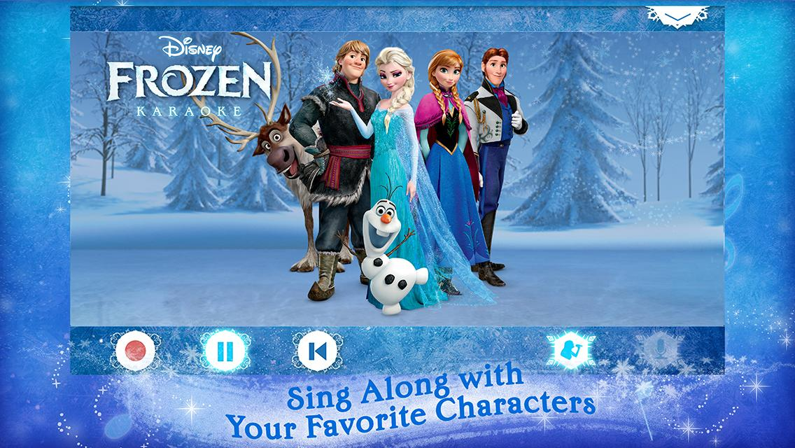 Disney Karaoke: Frozen- screenshot
