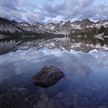 Photo: Dawn reflection at Alice Lake.