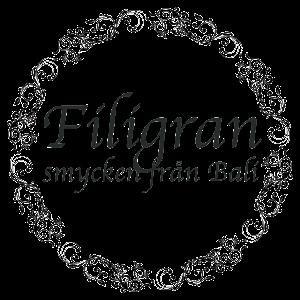 Filigran silversmycken - utvalt/designat/tillverka