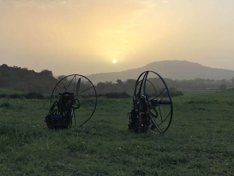 Paramotor training here in February...results say it all